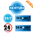 24 hours collection - - eps10 vector