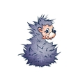 Hadgehog in cartoon style vector