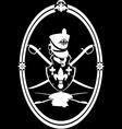 Hussar emblem vector