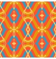 Pattern with arabic motifs in vibrant colors vector