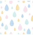Abstract textile colorful rain drops seamless vector