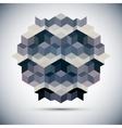 Hexagon kaleidoscope optical vector