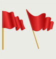 Waving flag vector