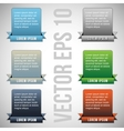 Colorful web designing elements vector
