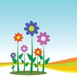 Flower for background vector
