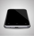 Perspective front smartphone vector