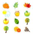 Autumn set vector