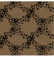 Seamless floral lace pattern vector