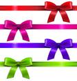 Big set ribbons vector