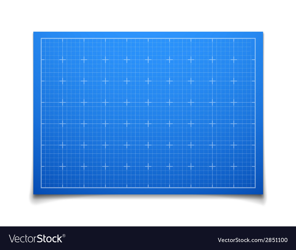 Blue isolated square grid with shadow vector | Price: 1 Credit (USD $1)