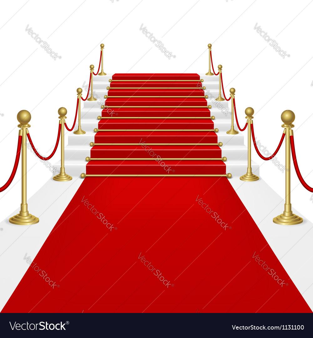 Red carpet vector | Price: 1 Credit (USD $1)