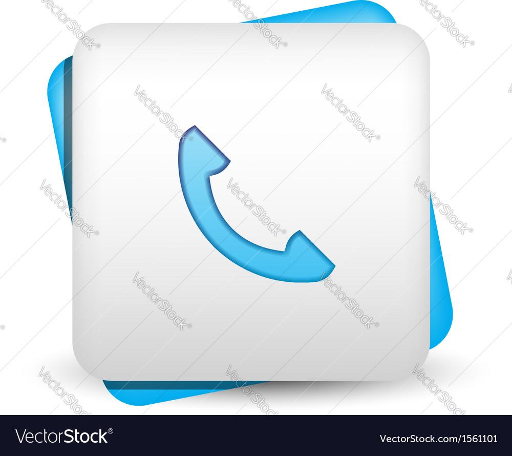 Contact icon vector | Price: 1 Credit (USD $1)