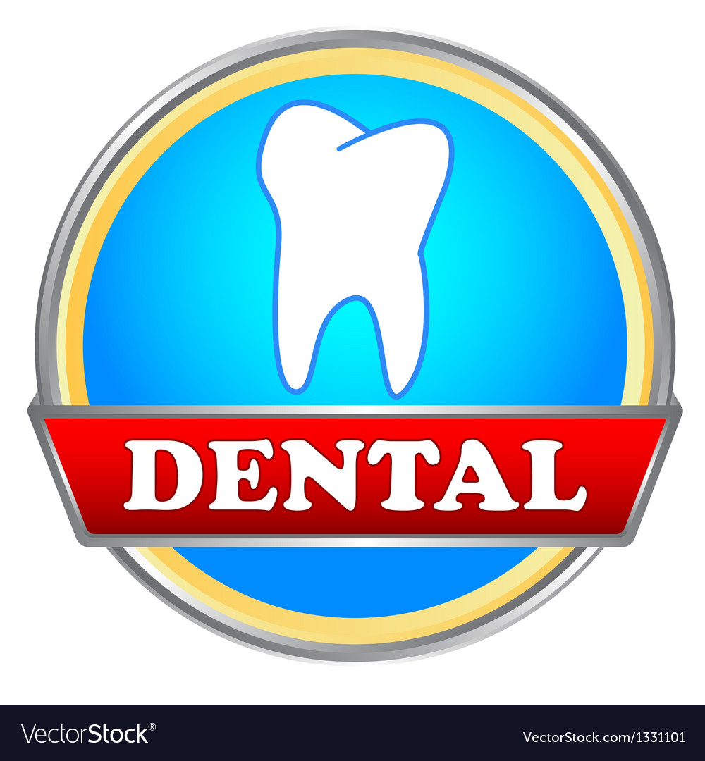 Dental icon vector | Price: 1 Credit (USD $1)