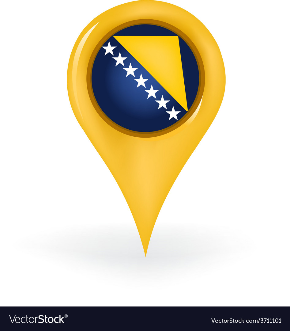Location bosnia and herzegovina vector | Price: 1 Credit (USD $1)