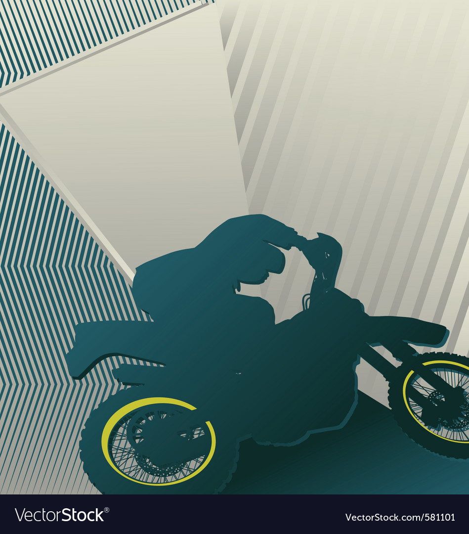 Motocross sport background vector | Price: 1 Credit (USD $1)