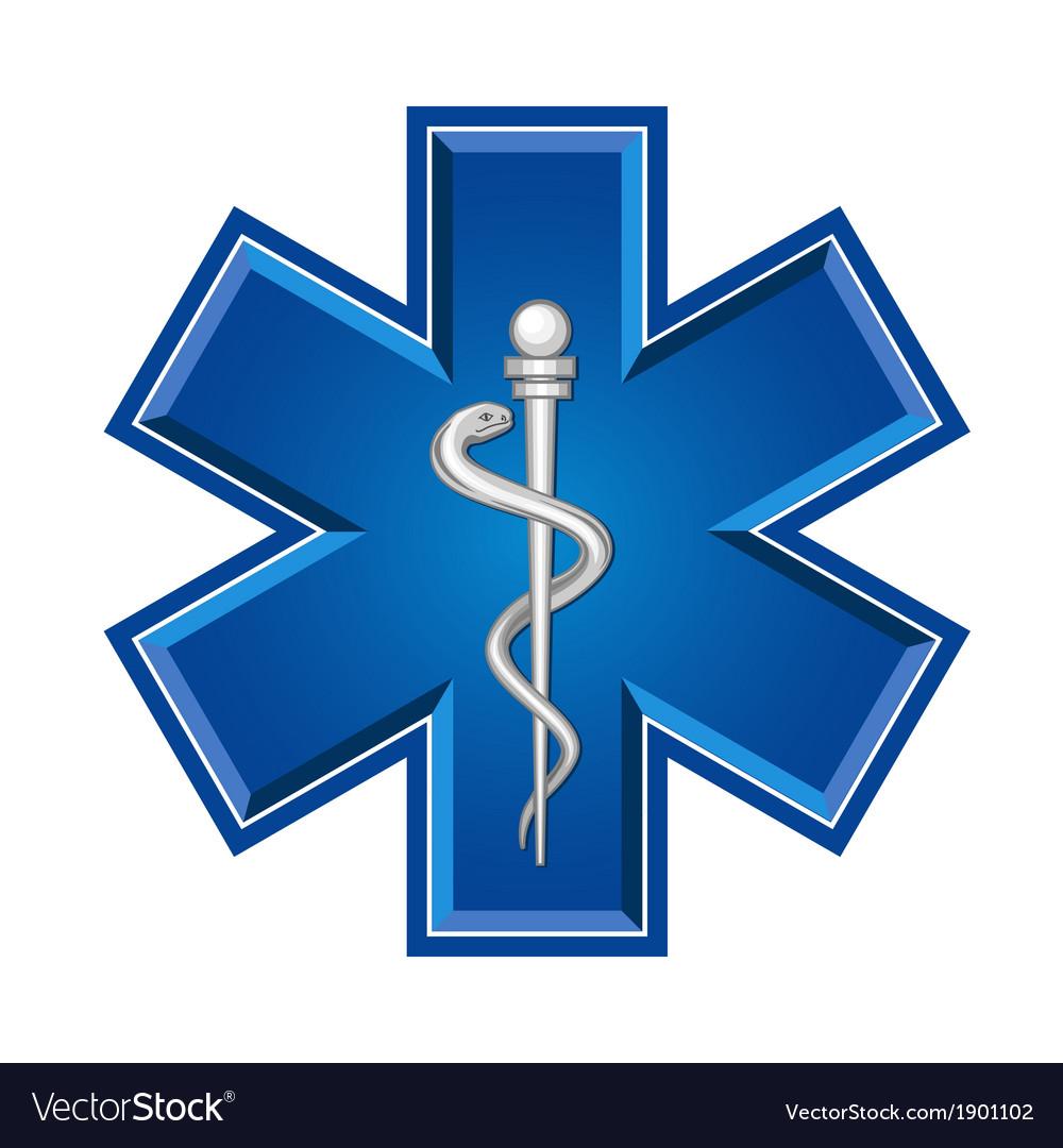 Emergency symbol vector | Price: 1 Credit (USD $1)