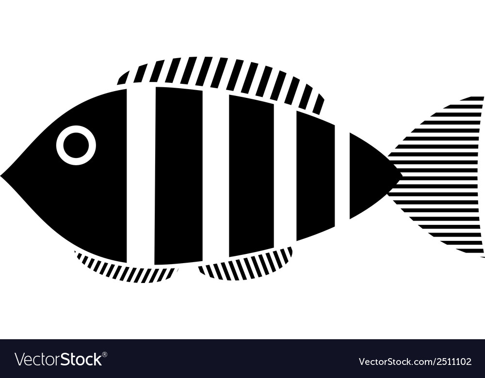 Fish icon vector | Price: 1 Credit (USD $1)