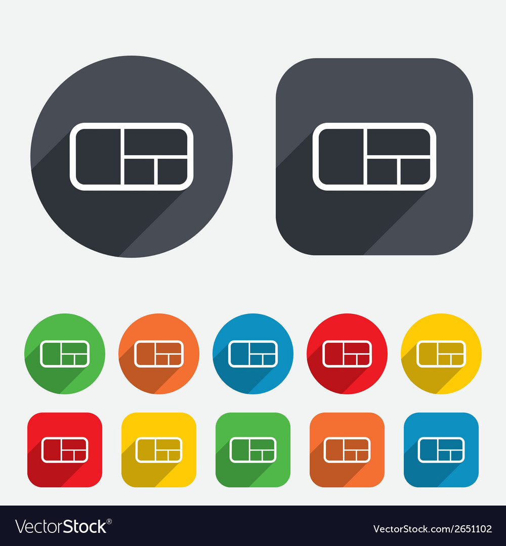 Stand sign icon modern furniture symbol vector   Price: 1 Credit (USD $1)