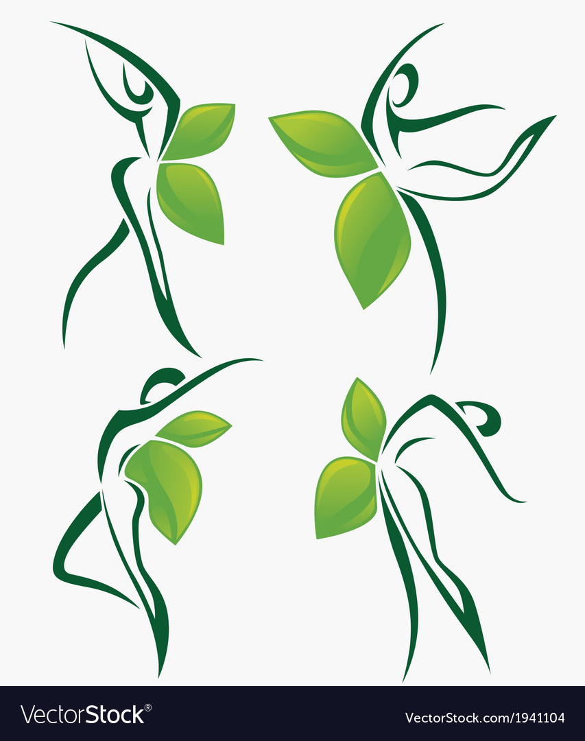 Nature dance and beauty vector | Price: 1 Credit (USD $1)