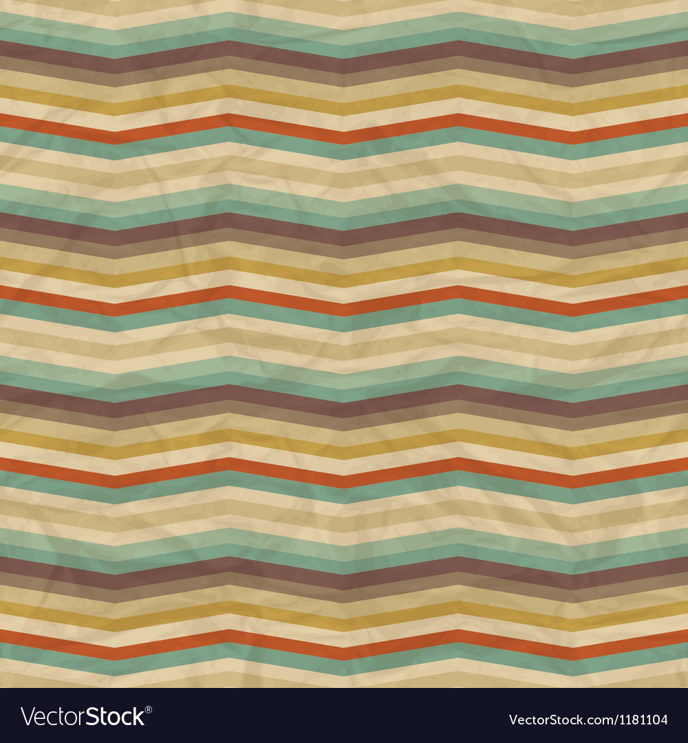 Seamless retro geometric pattern vector | Price: 1 Credit (USD $1)