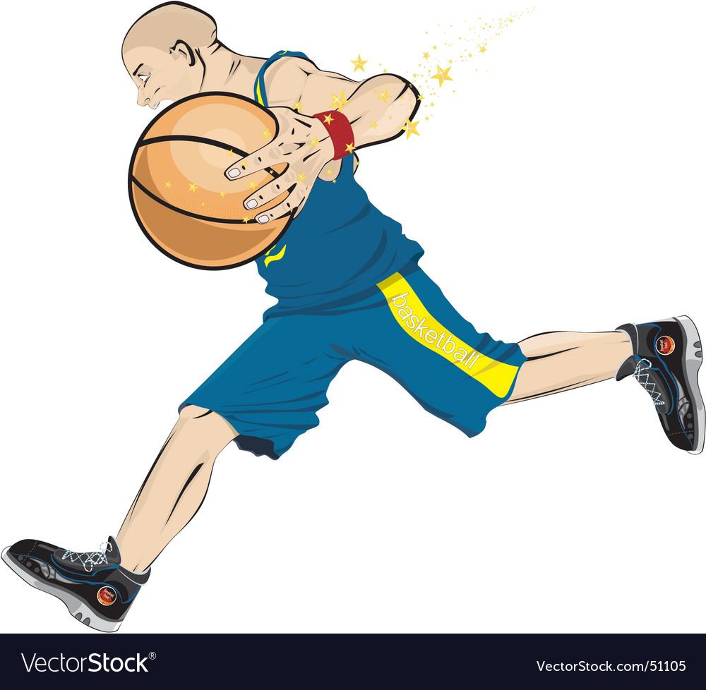 Basketball super star vector | Price: 3 Credit (USD $3)