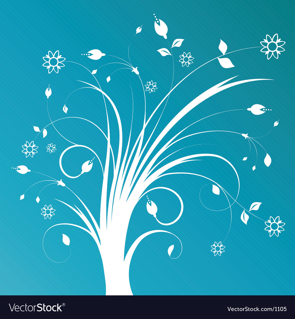 Decorative abstract vector