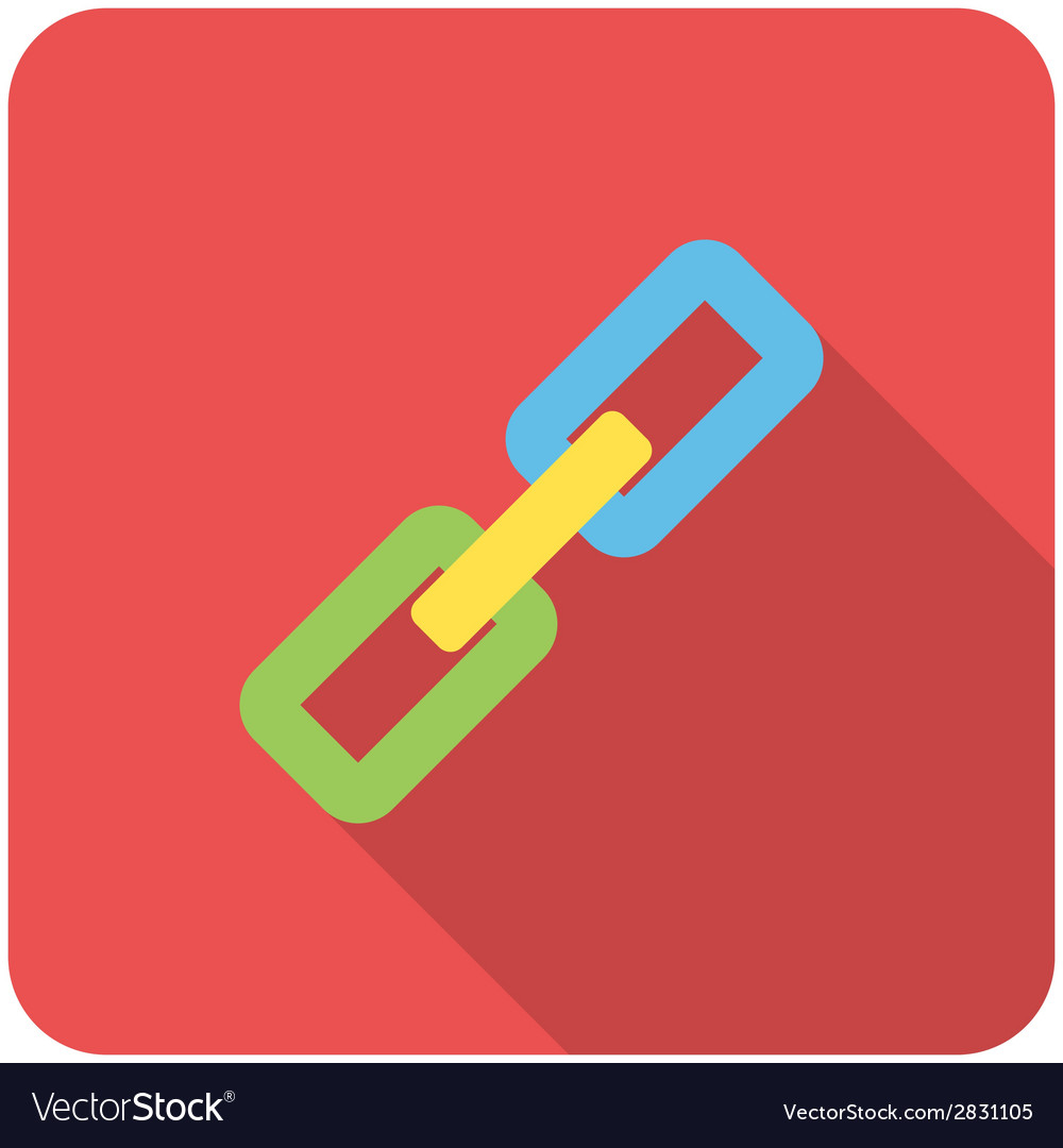 Link icon vector | Price: 1 Credit (USD $1)