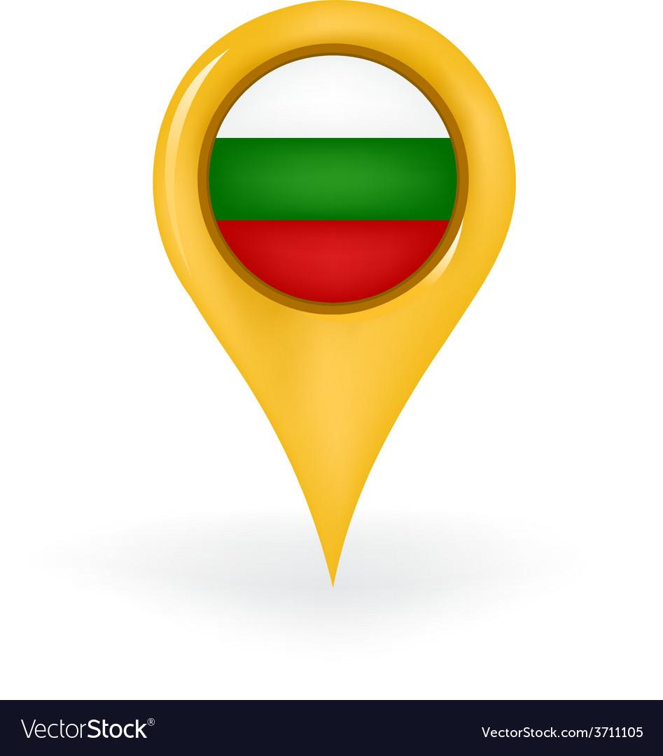 Location bulgaria vector | Price: 1 Credit (USD $1)