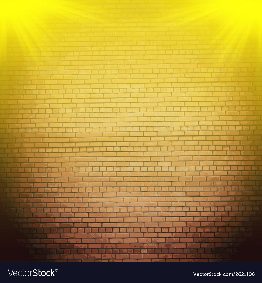 Abstract brick background blurry light effects vector   Price: 1 Credit (USD $1)