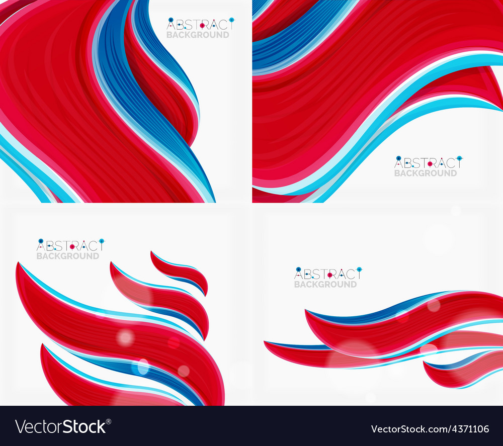 Abstract realistic solid wave background vector | Price: 1 Credit (USD $1)