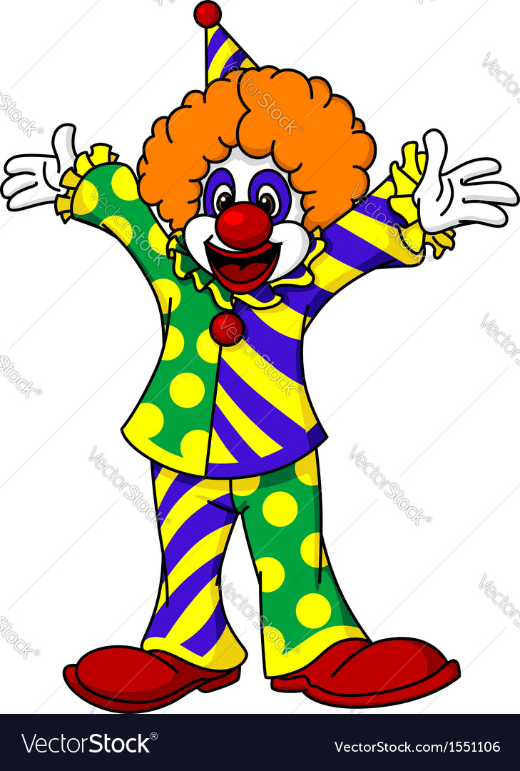 Circus clown vector | Price: 1 Credit (USD $1)