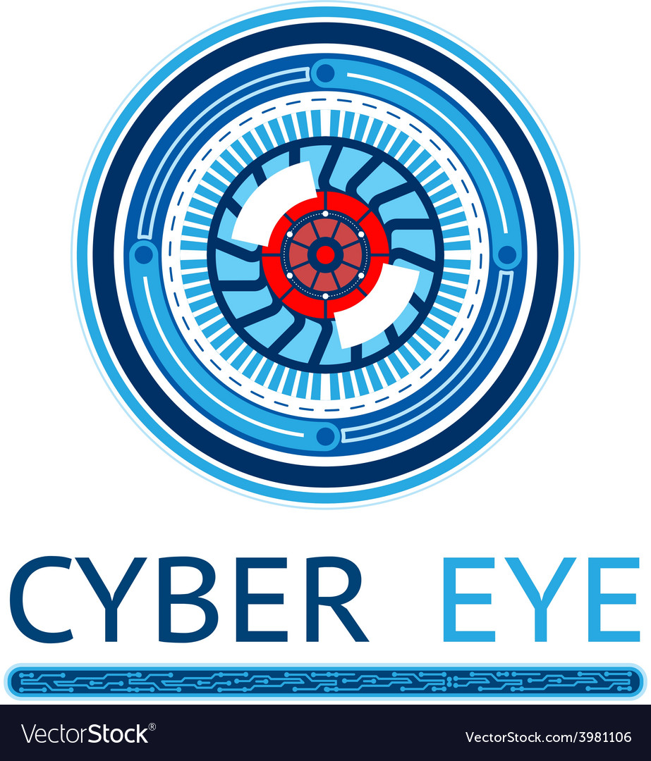 Creative cyber eye logo vector   Price: 1 Credit (USD $1)