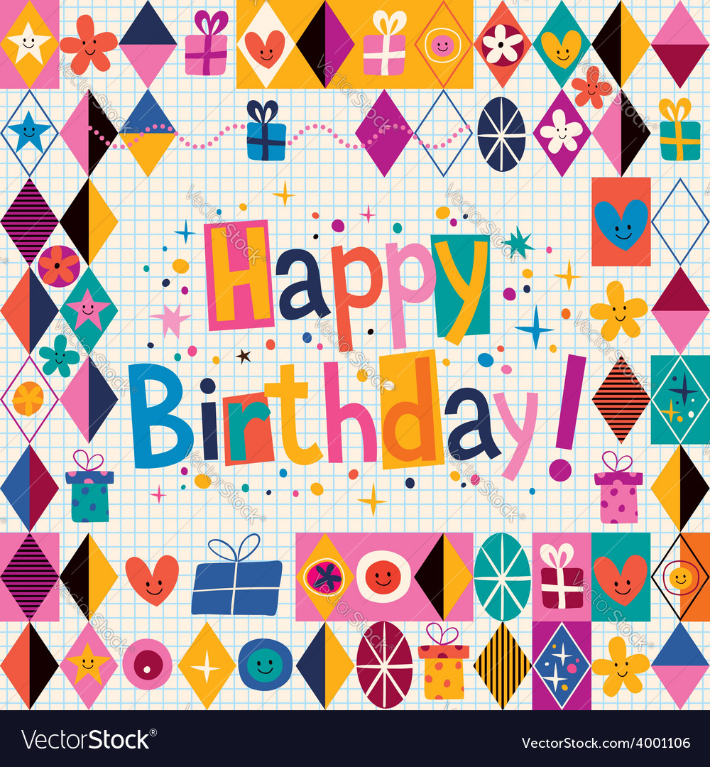 Happy birthday 11 vector | Price: 1 Credit (USD $1)