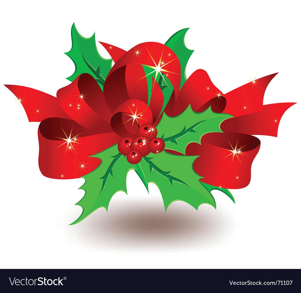 Christmas garnish vector | Price: 1 Credit (USD $1)