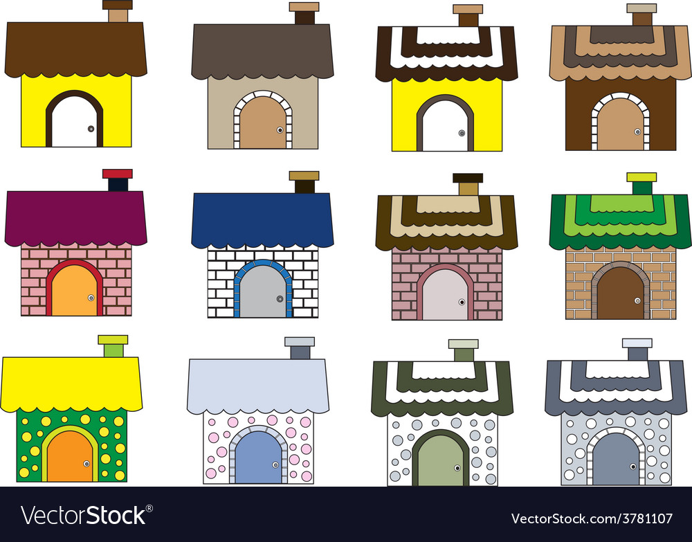 Cute home styles1 01 vector | Price: 1 Credit (USD $1)