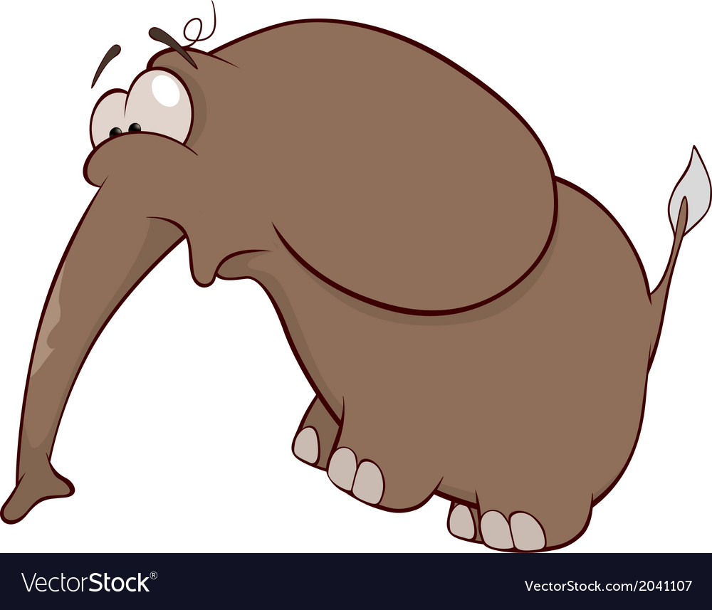 The elephant calf vector | Price: 1 Credit (USD $1)