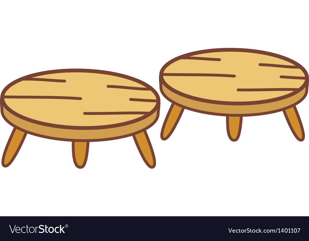 Two chairs vector | Price: 1 Credit (USD $1)