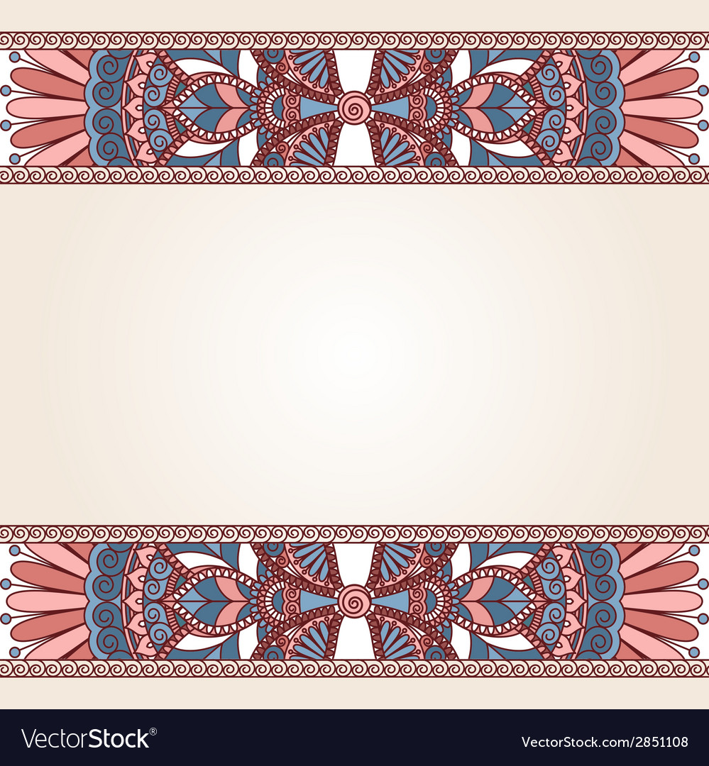 Floral oriental pattern vector | Price: 1 Credit (USD $1)