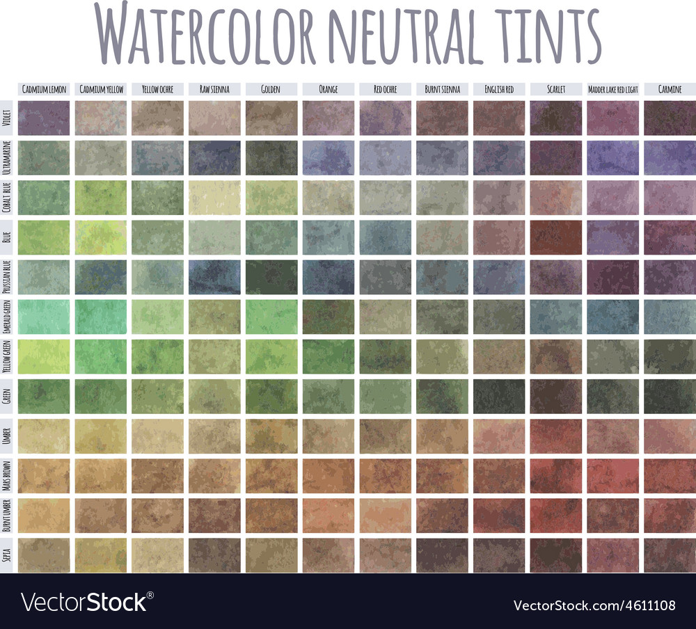 Watercolor neutral tints vector | Price: 1 Credit (USD $1)