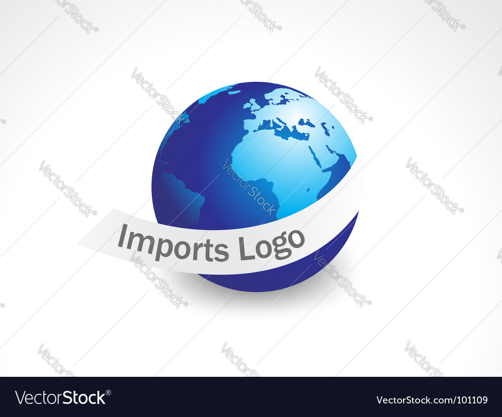 Import logo vector | Price: 1 Credit (USD $1)