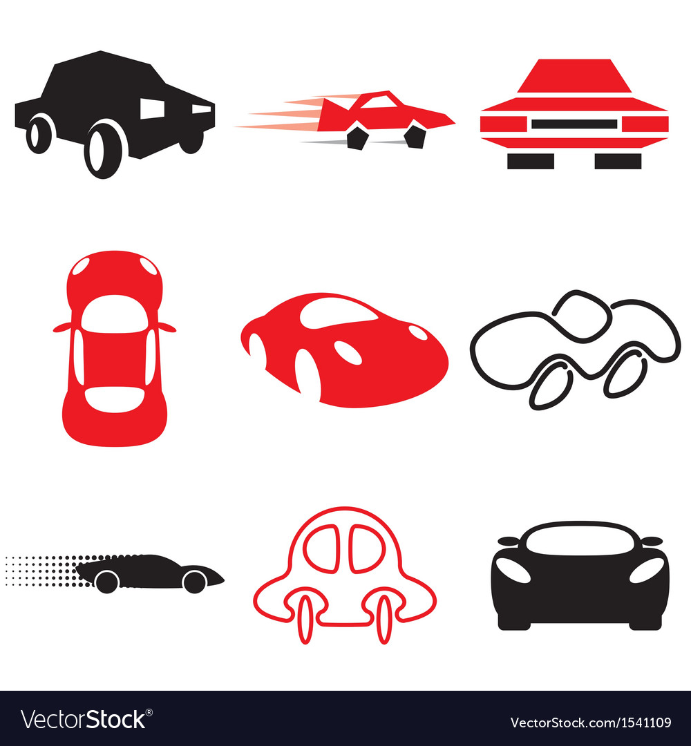 Logo icons car vector | Price: 1 Credit (USD $1)