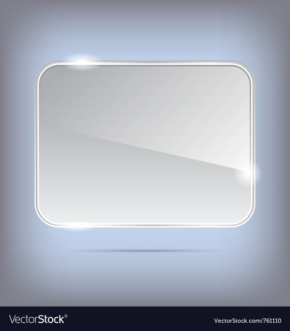 Abstract transparent glass banner - vector   Price: 1 Credit (USD $1)