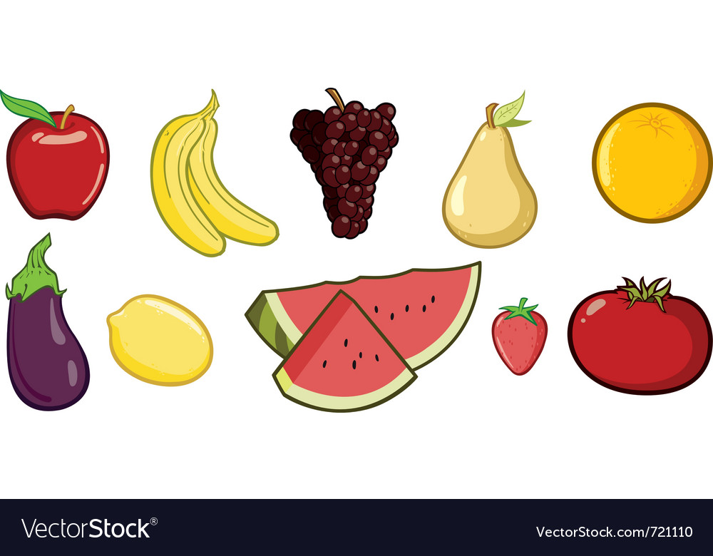 Fruit vector | Price: 3 Credit (USD $3)