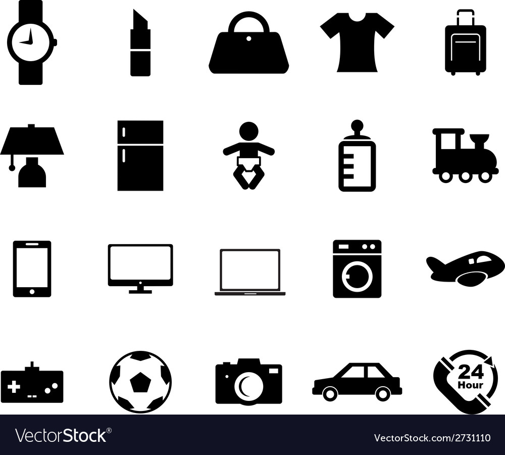 Online shop icon vector | Price: 1 Credit (USD $1)