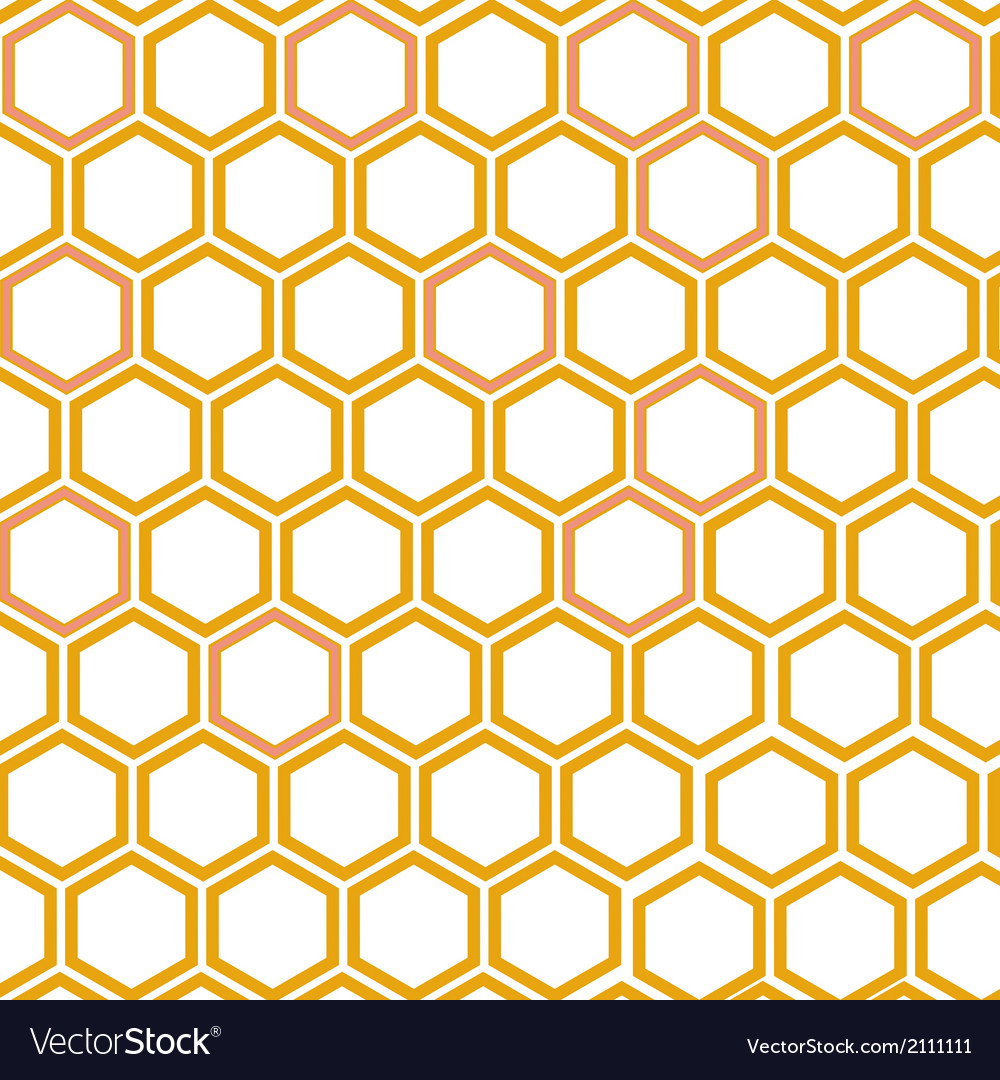 Honeycomb pattern vector | Price: 1 Credit (USD $1)