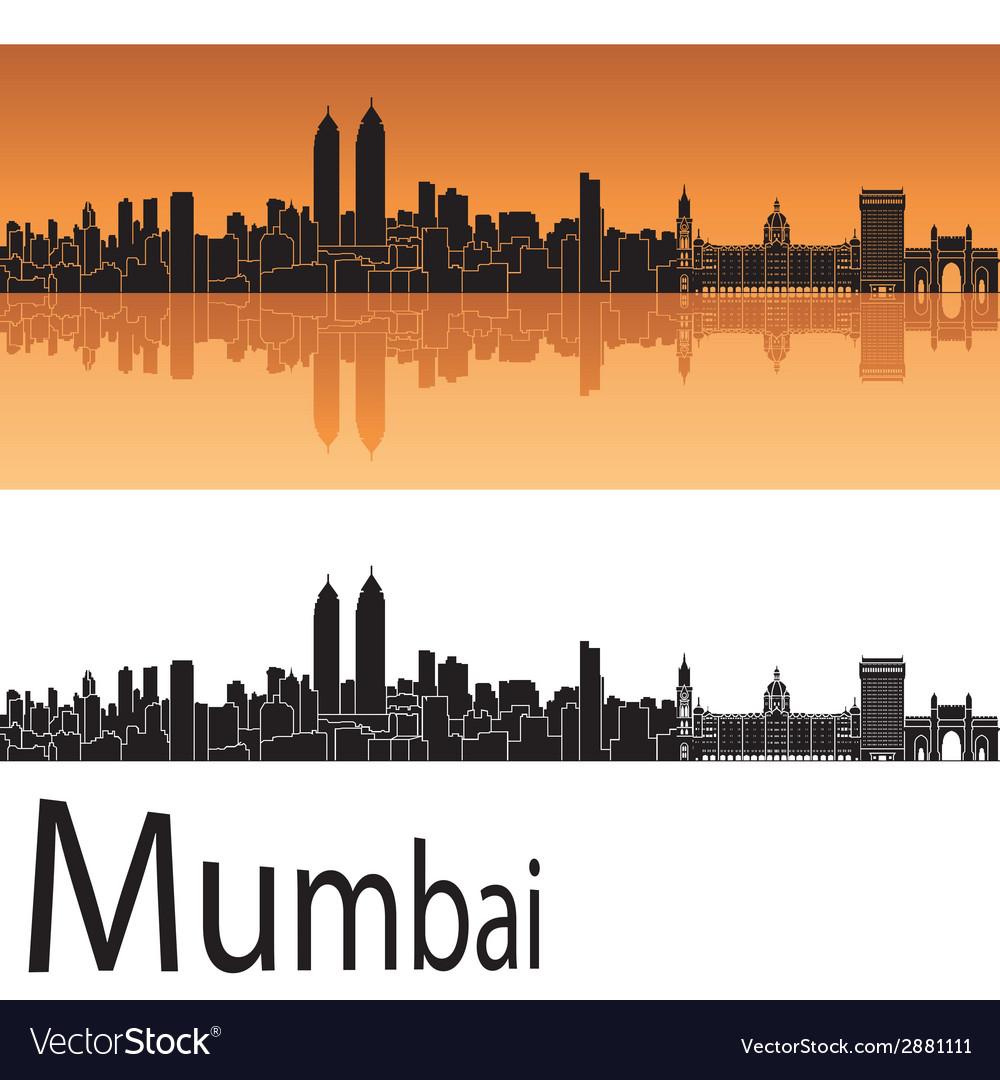 Mumbai skyline vector   Price: 1 Credit (USD $1)