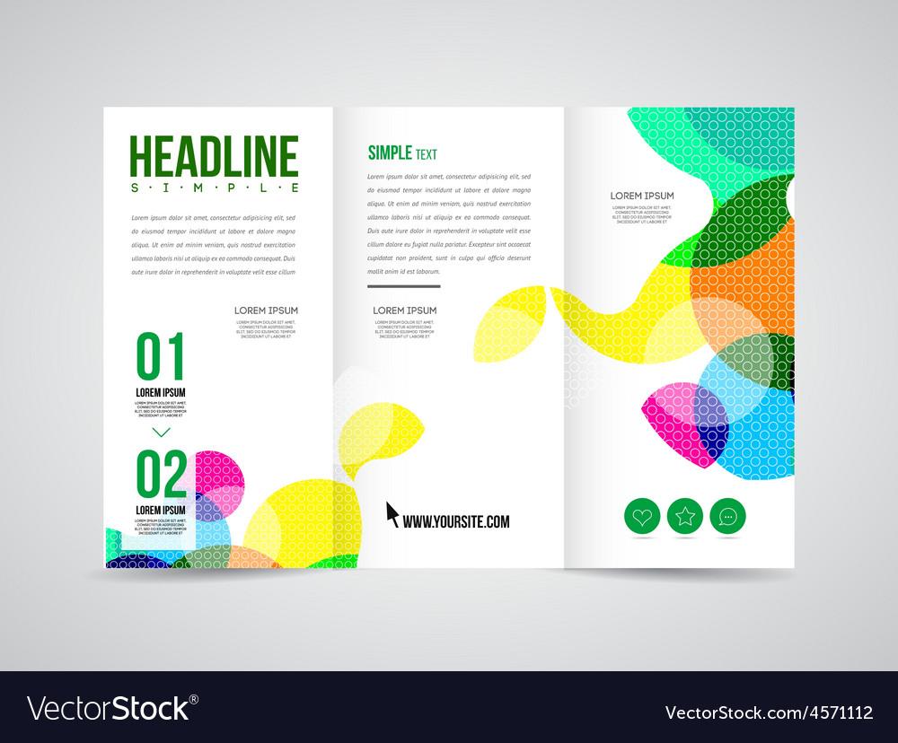 Brochure template vector   Price: 1 Credit (USD $1)