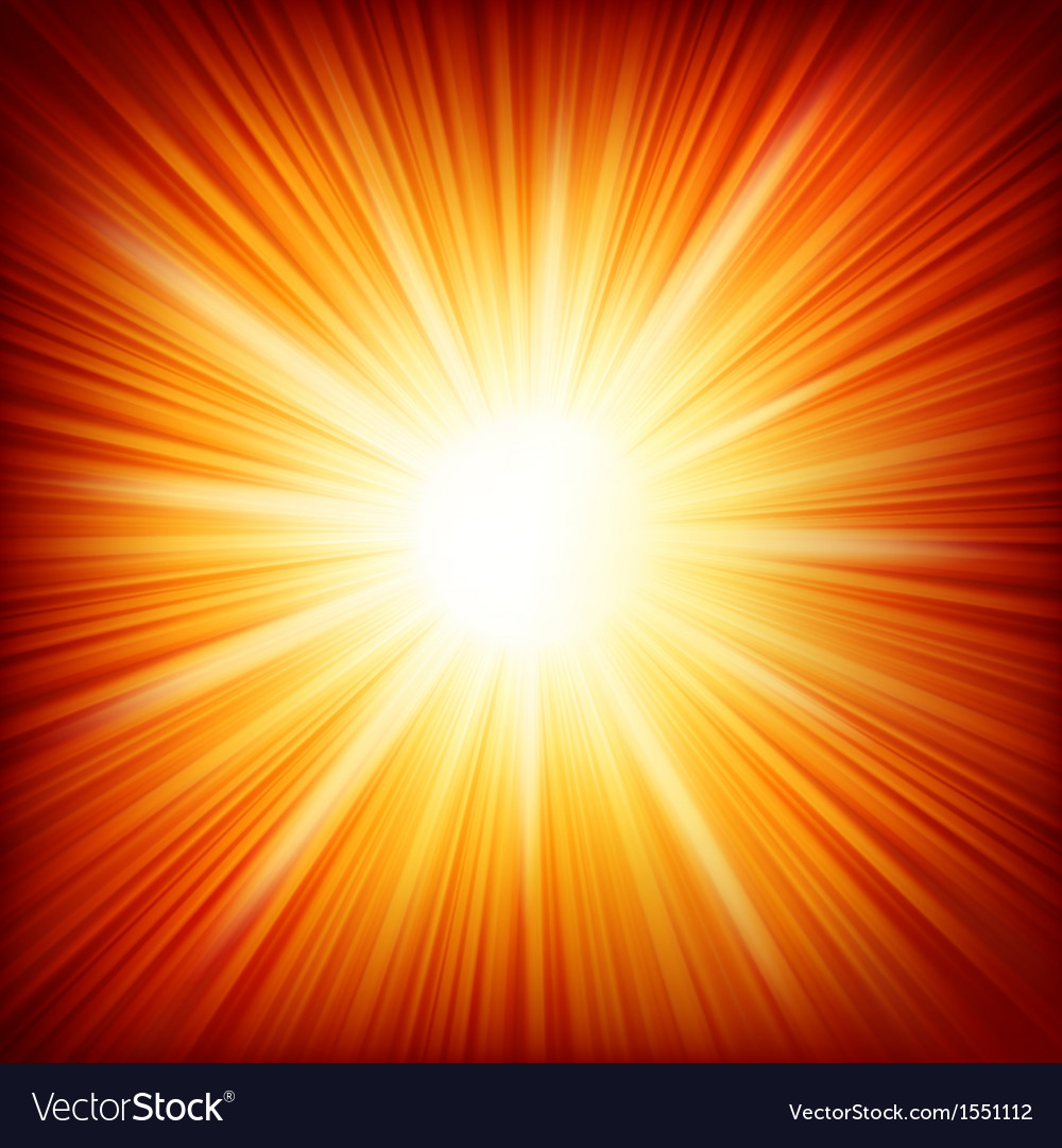 Star burst red and yellow fire eps 10 vector | Price: 1 Credit (USD $1)
