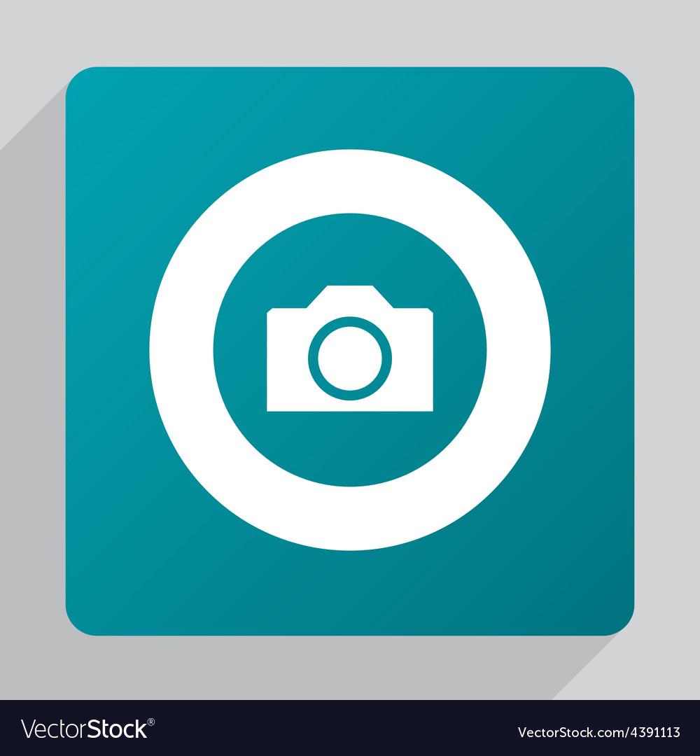 Flat camera icon vector | Price: 1 Credit (USD $1)