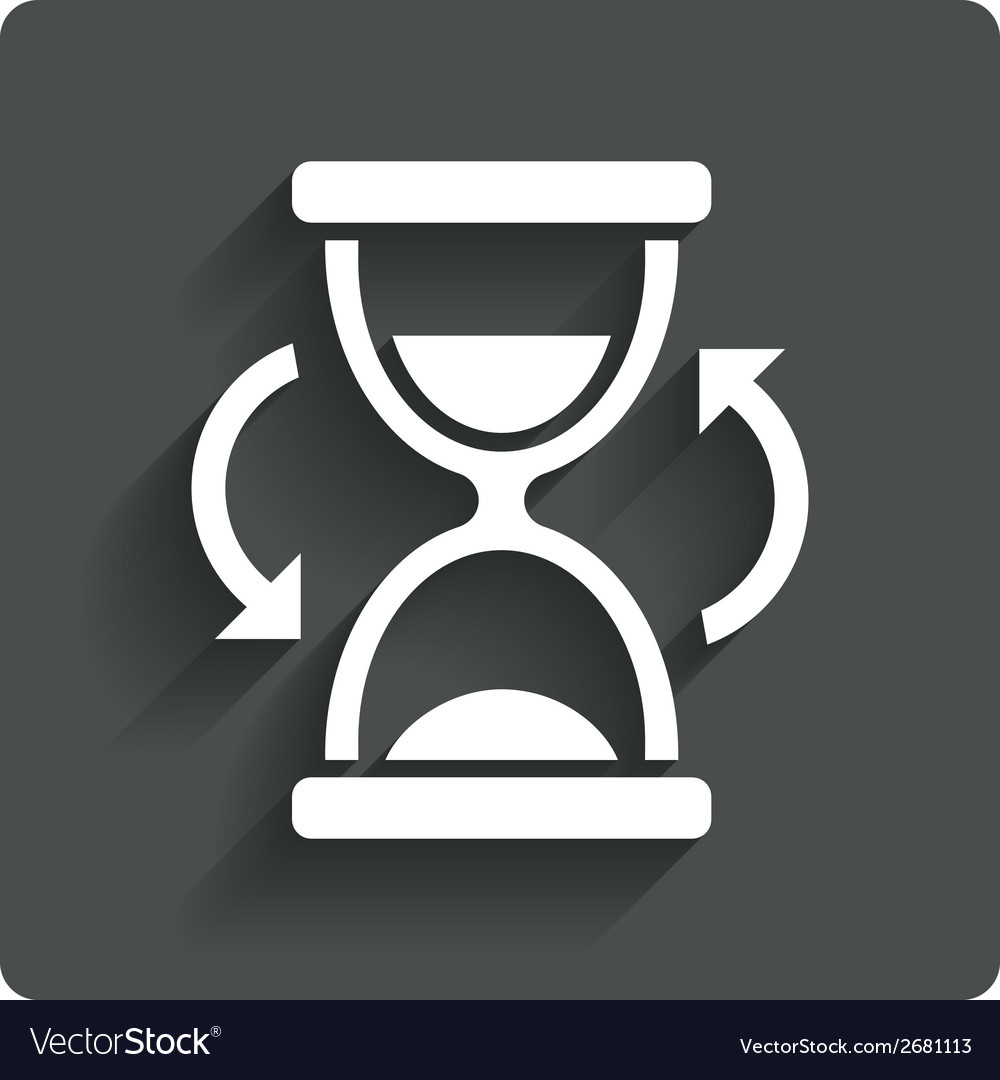 Hourglass sign icon sand timer symbol vector   Price: 1 Credit (USD $1)